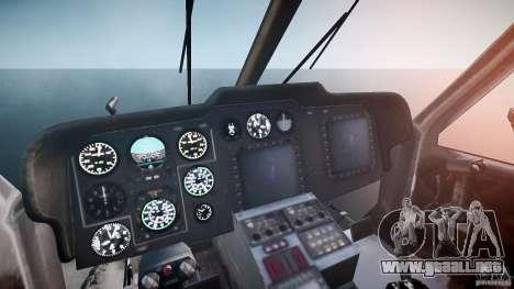 KA-60 Kasatka v1.0 para GTA 4 vista hacia atrás