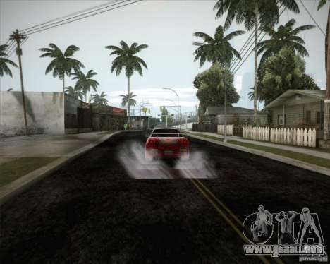 Nissan Skyline Z-Tune v2.0 para la vista superior GTA San Andreas