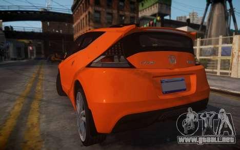 Honda Civic CR-Z para GTA 4 left