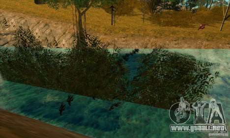 Travesía v1.0 para GTA San Andreas sucesivamente de pantalla
