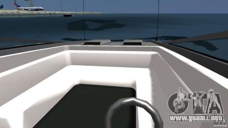 Nuevo Jetmax para GTA 4 vista lateral