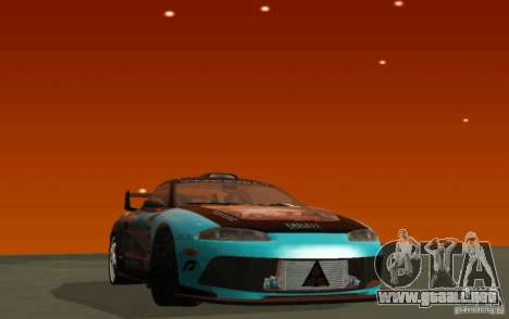 Mitsubishi Eclipse Elite para GTA San Andreas left