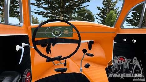 Baja Volkswagen Beetle V8 para GTA 4 Vista posterior izquierda