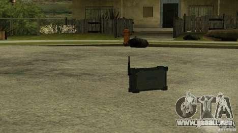 Flash de la CoD MW2 para GTA San Andreas tercera pantalla