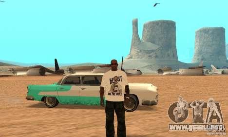 WWE CM Punk t-shirt para GTA San Andreas
