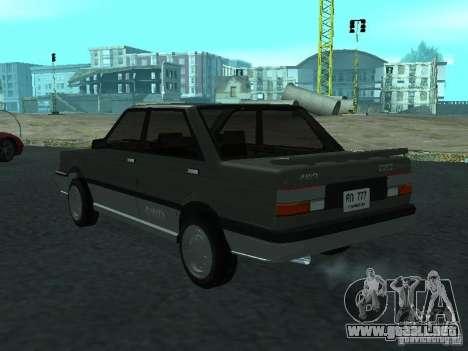 Nissan Sanny 1500 (B12) para GTA San Andreas left