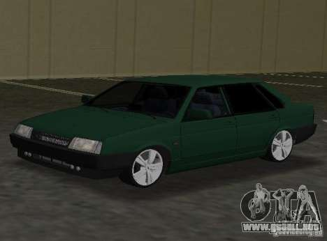 VAZ 2109 Tuning v2.0 para GTA Vice City