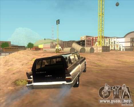 RAPH GAS 13C para GTA San Andreas vista posterior izquierda