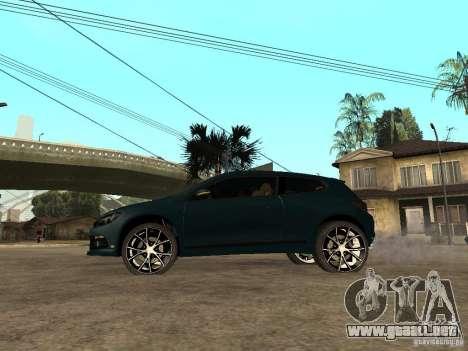 Volkswagen Scirocco 2010 para GTA San Andreas left