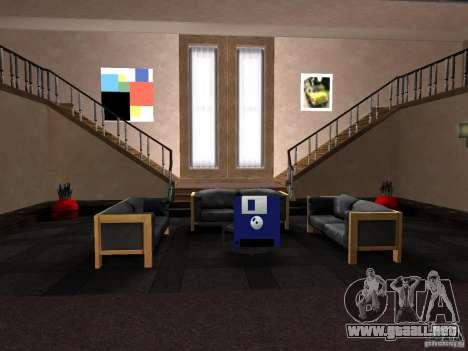 Apartamento secreto para GTA San Andreas tercera pantalla