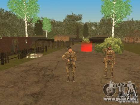 DEGTYAREV de Stalker para GTA San Andreas séptima pantalla