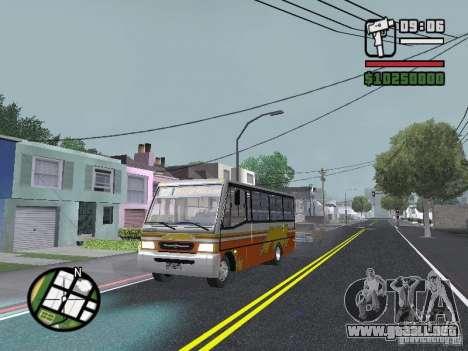 Ciferal Agilis M.Benz LO-814 BY GTABUSCL para la vista superior GTA San Andreas