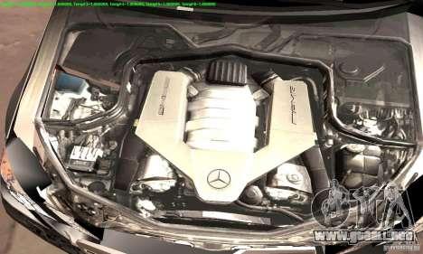 Mercedes-Benz E63 AMG 2010 para la vista superior GTA San Andreas
