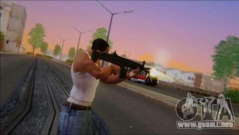 SCAR - H para GTA San Andreas segunda pantalla