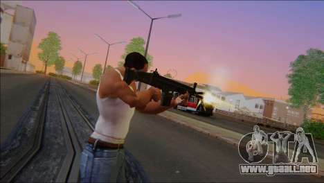 SCAR - H para GTA San Andreas tercera pantalla
