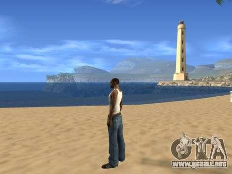 Desactivación de efectos del calor para GTA San Andreas segunda pantalla