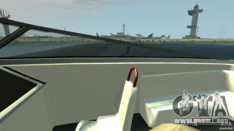 Tuned Jetmax para GTA 4 vista hacia atrás