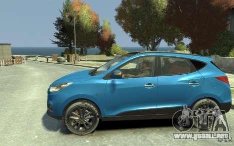 Hyundai IX35 2010 Beta para GTA 4 left