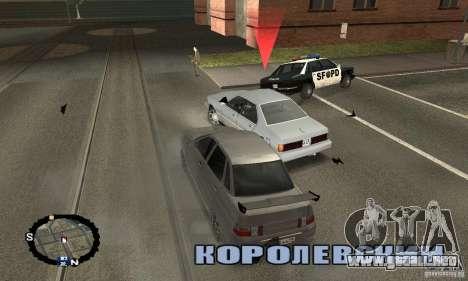 Carreras callejeras para GTA San Andreas tercera pantalla