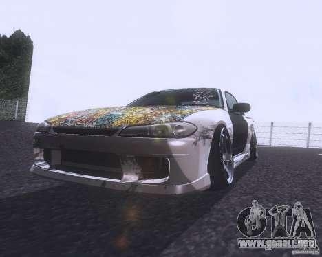 Nissan Silvia S15 Street para GTA San Andreas