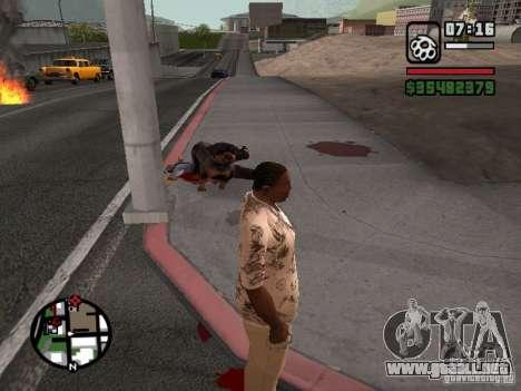 Rottweiler para GTA San Andreas tercera pantalla