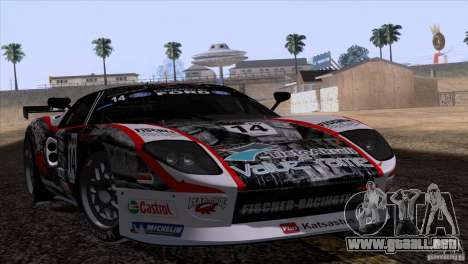 Ford GT Matech GT3 Series para la vista superior GTA San Andreas