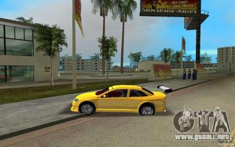 Opel Astra Coupe para GTA Vice City vista lateral izquierdo