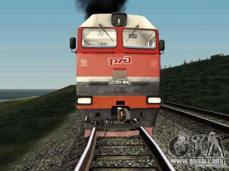 2te116u-0040 RZD para GTA San Andreas left