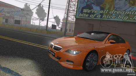 BMW M6 Hurricane RR para GTA 4 vista interior