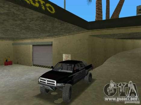 Dodge Ram Prerunner para GTA Vice City visión correcta