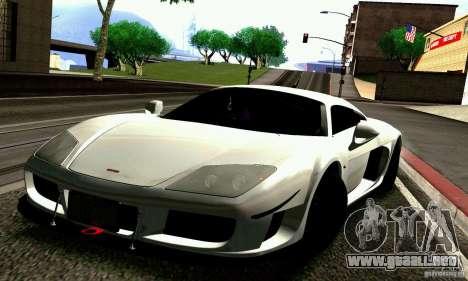 Noble M600 para las ruedas de GTA San Andreas