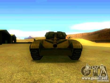 Tanque juego S. T. A. L. k. e. R para GTA San Andreas vista hacia atrás
