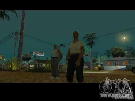 Varrio Los Aztecas para GTA San Andreas octavo de pantalla