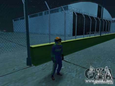 Falken Tire PED para GTA San Andreas segunda pantalla