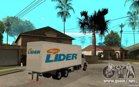 Camiun Hiper Lider para la visión correcta GTA San Andreas