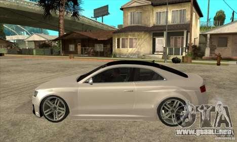 Audi S5 Quattro Tuning para GTA San Andreas left