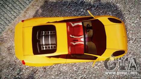 Lamborghini Cala para GTA 4 visión correcta