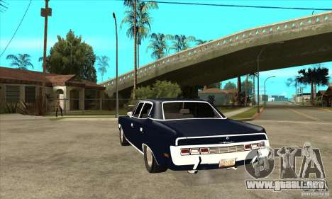 AMC Rambler Matador 1971 para GTA San Andreas vista posterior izquierda