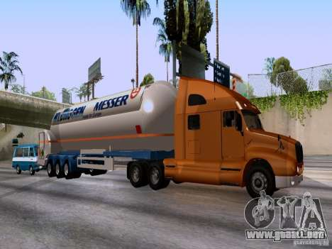 Kenworth T2000 para GTA San Andreas left