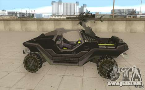 Halo Warthog para GTA San Andreas left