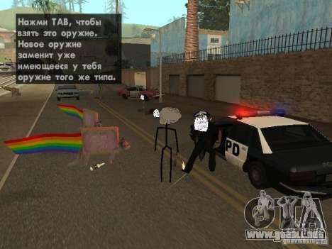 Meme Ivasion Mod para GTA San Andreas quinta pantalla
