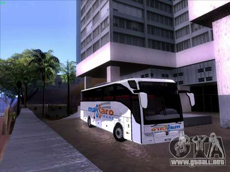 Mercedes Benz Tourismo 16 RHD para GTA San Andreas left