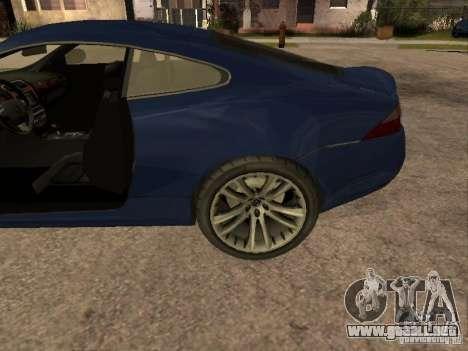 Jaguar XK para la visión correcta GTA San Andreas