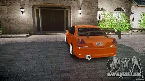 Toyota JZX110 para GTA 4 ruedas