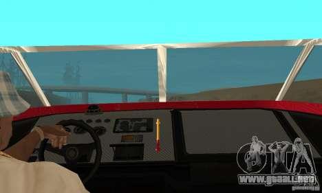 GTAIV Jetmax para GTA San Andreas vista hacia atrás