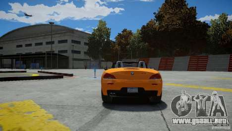 BMW Z4 sDrive 28is para GTA 4 vista hacia atrás