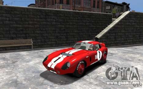 Shelby Cobra Daytona Coupe 1965 para GTA 4