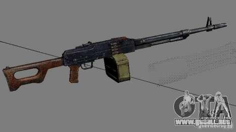 Un conjunto de armas de acosador V2 para GTA San Andreas