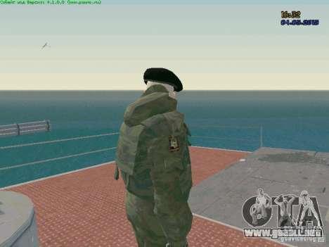 RF Marine para GTA San Andreas segunda pantalla