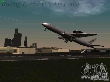 Boeing E-767 U.S Air Force para GTA San Andreas